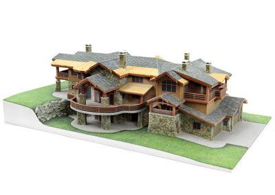 Архитектурное 3D макетирование